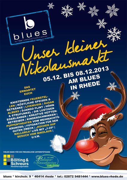Nikolausmarkt-Blues-Rhede